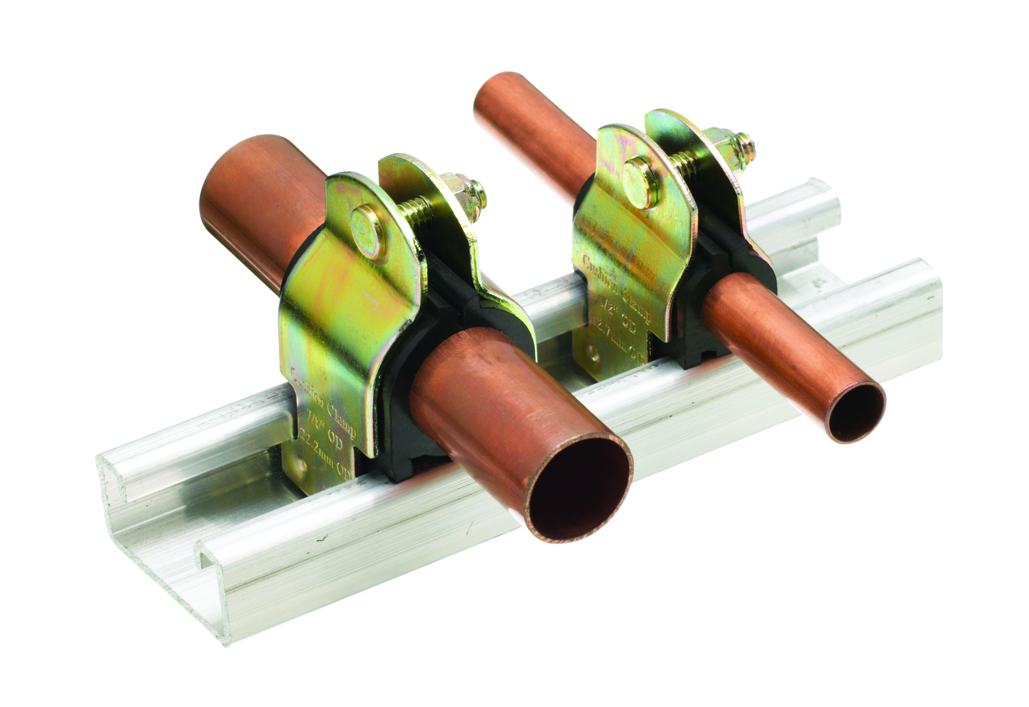 Od copper tube support clamp air conditioning hawco