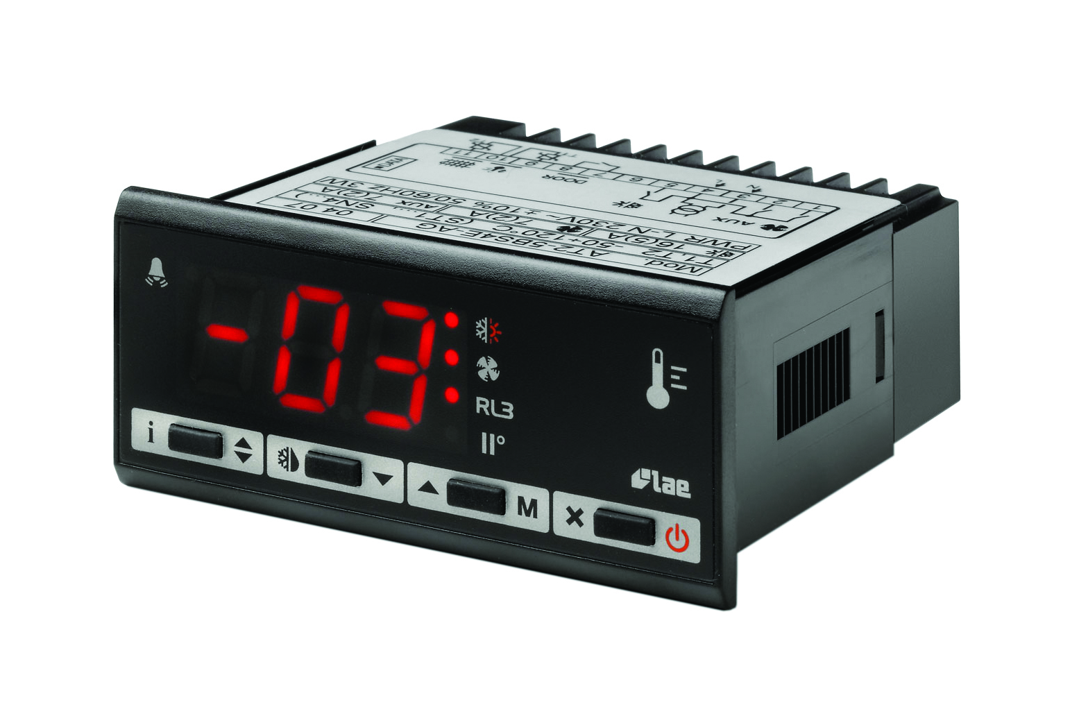 temperature controls thermostats and process controllers hawco lae panel mount universal high low temp defrost controller 230v supply 2 x ptc