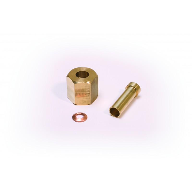 Flare nut to solder fitting sae hawco
