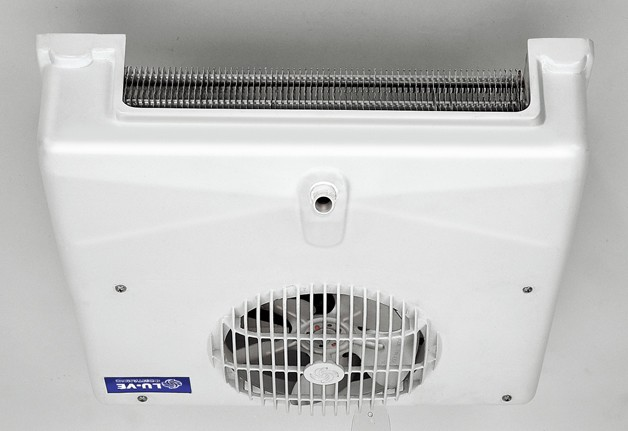 LU-VE Compact Cooler 470W @ 10Ktd R404a, Off Cycle Defrost, 1 x 154mm Dia  Fan