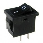 10A Black Rocker Switch (DPST)