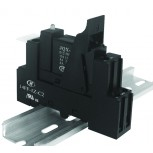 HONGFA DIN RAIL MOUNTING RELAY SOCKET