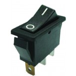 SPST (ON-NONE-OFF) Illuminated Rocker Switch with Red LED