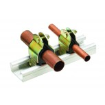 1/4'' OD COPPER TUBE SUPPORT CLAMP