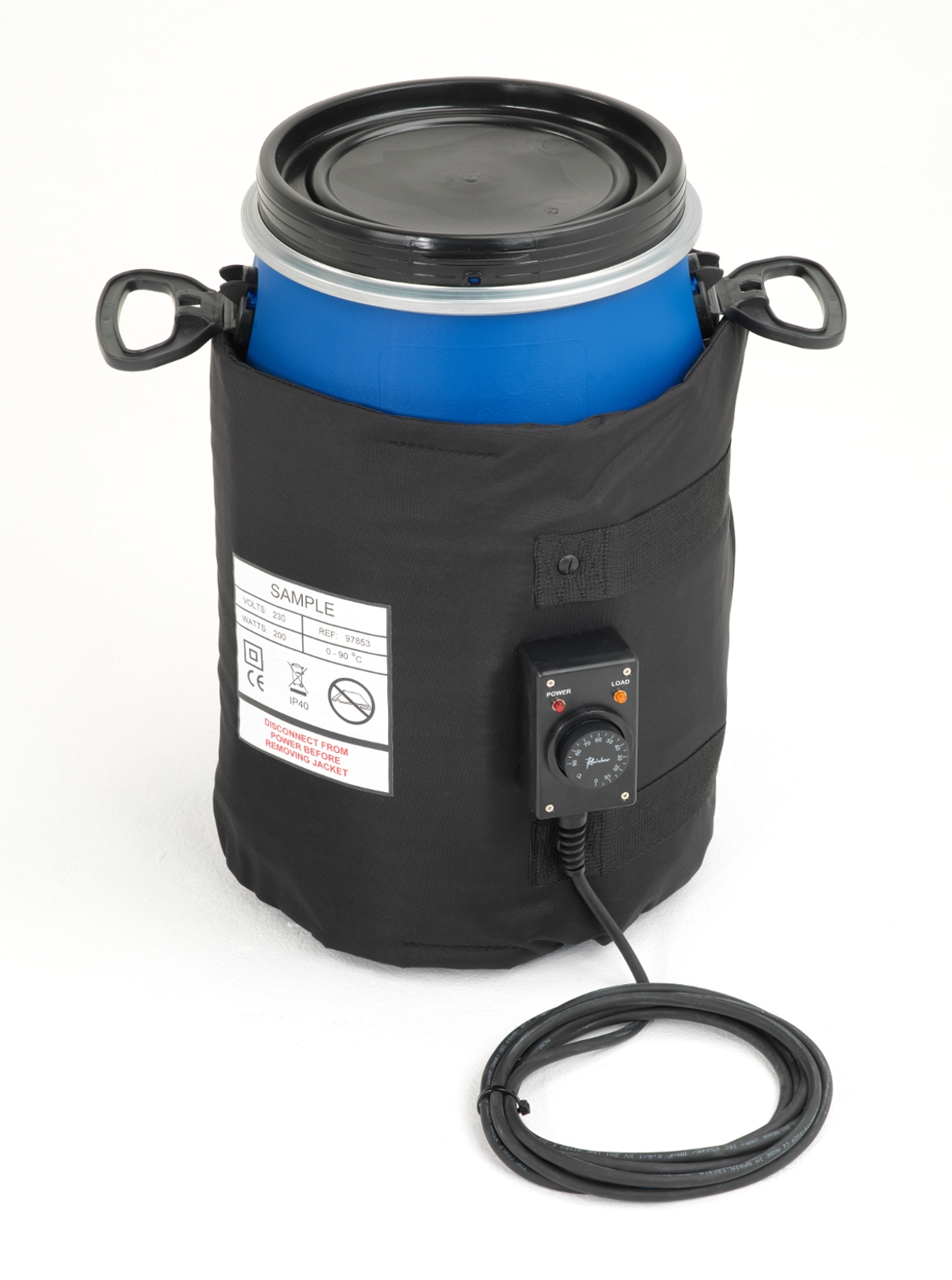Insulated Side Drum heaters