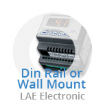 LAE Digital 2 Stage Thermostat - Din Mounted