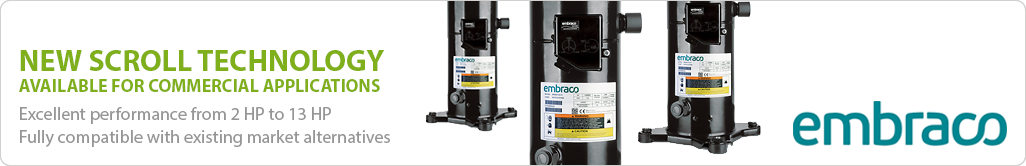 Embraco Scroll Compressors available at Hawco