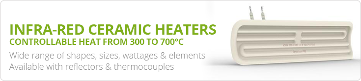 Ceramic Infra-red Heaters