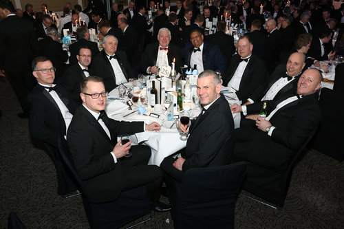 Hawco Attend IOR Awards Dinner